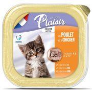 Barquette Repas Plaisir Chaton Terrines Poulet & Lait