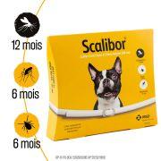 Collier antiparasitaires Scalibor pour petit chien, indications