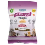 Snacks Serrano Anti Hairball à la sardine pour chat