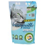 Tranquille Litière Cristale Prévention pour chat