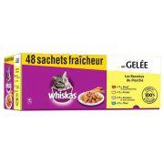Sachets Whiskas Les Recettes du Marché pour chat