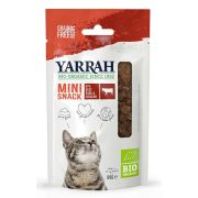 Yarrah Chat Mini Snack Sans Céréales Viande Bio