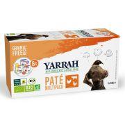 Yarrah Chien Multi-Pack Dinde Poulet Bœuf Bio