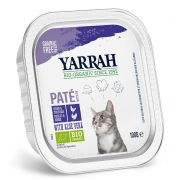 Yarrah Chat Pâtée Poulet Et Dinde Bio