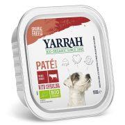 Yarrah Chien Pâtée Bœuf et Poulet Bio