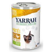 Yarrah Chat Pâtée Poulet Bio - Boîte