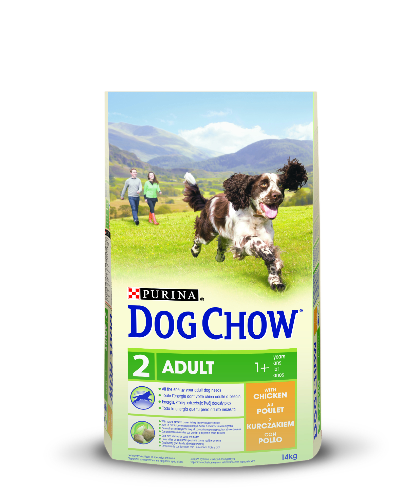 Purina Dog Chow Chien adulte 1+ Poulet