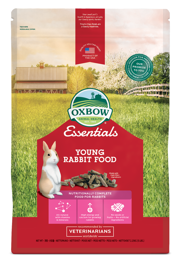 Oxbow Granulés Young Rabbit