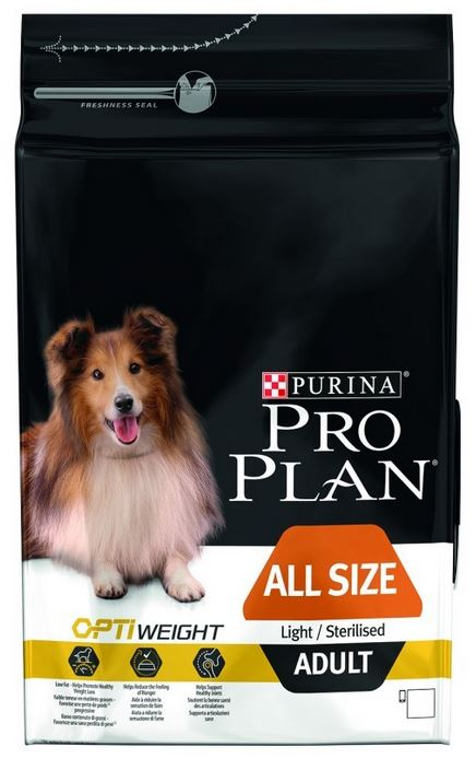 Proplan Chien Adulte All Size Light/Sterilised Poulet